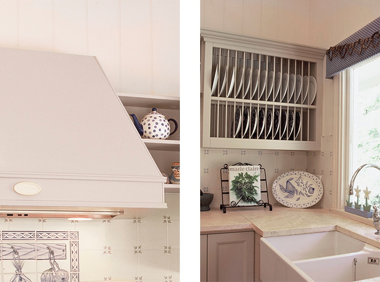 custom kitchens Brisbane, plate rack design, farmhouse sink
