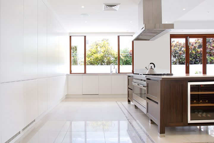 kitchen upgrade Gold Coast, integrated wine fridge
