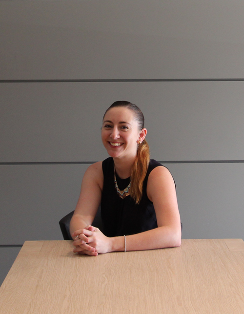 Kelly Haggarty, Showroom manager, DbyD kitchens & joinery