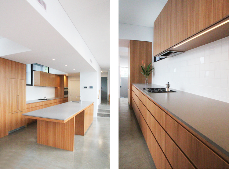 architect designed home, kitchen manufacturers Brisbane, DbyD, St Lucia