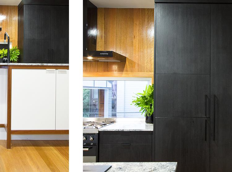 kitchen restoration Brisbane, timber accents, contemporary design