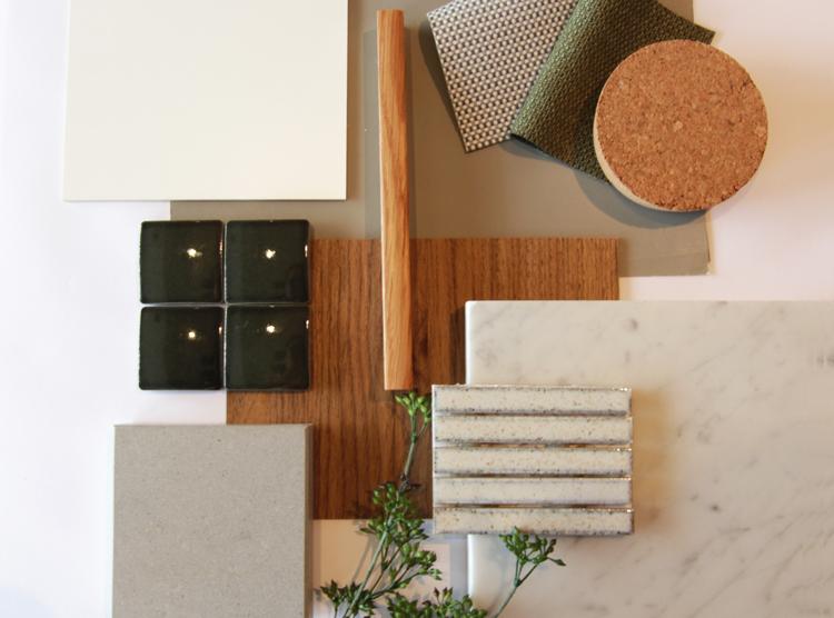 organic minimal colour palette, Brisbane interior designers, DbyD